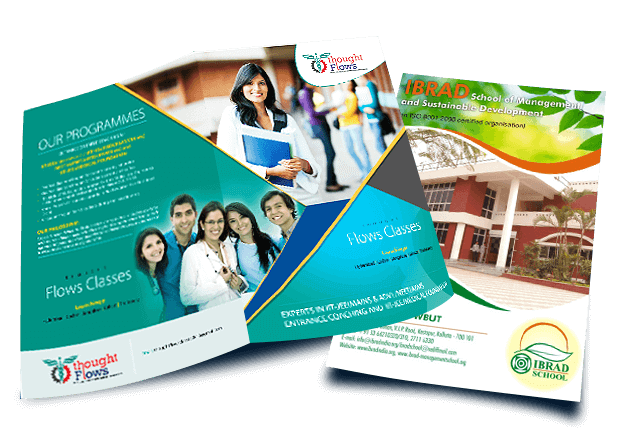 Best Brochure Design Company Offers Brochure Design Services - High school brochure template